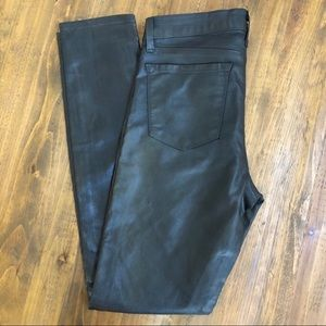 J Brand Super Skinny Faux Leather Pants